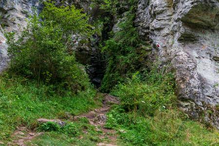 Bears' cave entrance, Fairies Garden, Borsec, Romania