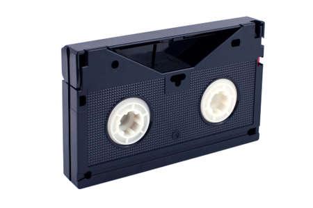 videokassette: Videokassette isolated on white background
