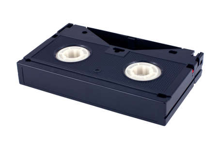 videotape: videotape isolated on white background