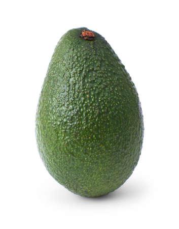 avocado: avocado isolato su sfondo bianco Archivio Fotografico