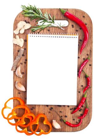 Menu design culinary background Standard-Bild