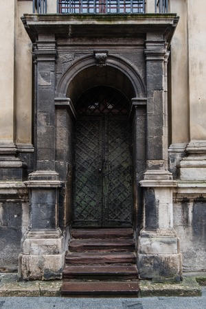 front house: Front Door of a London House.
