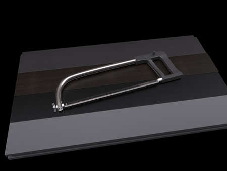 planks: Parquet, laminate, wooden planks with blade.3D rendering.