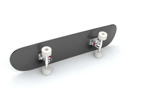 Skateboard. 3D rendering. Banque d'images