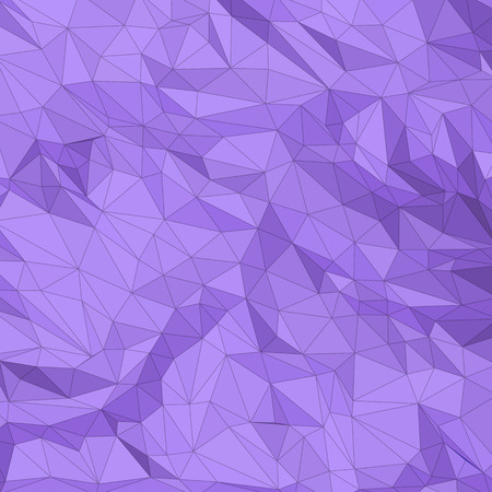 Abstract triangle polygonal violet mesh texture. Background vector illustration