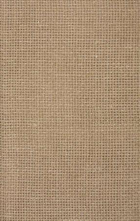 黄麻布のテクスチャ袋布フラグメント、さまざまなグラフィック アートの背景