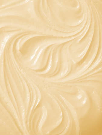Whipped mousse close-up  Studio shot