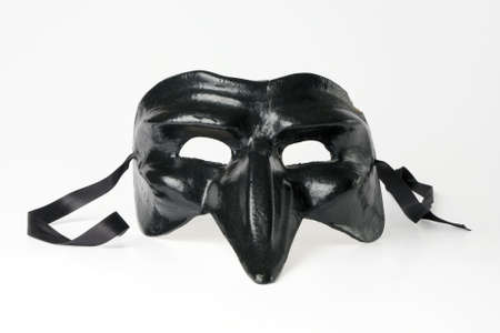 Venetian Mask isolated on white background, path included photo