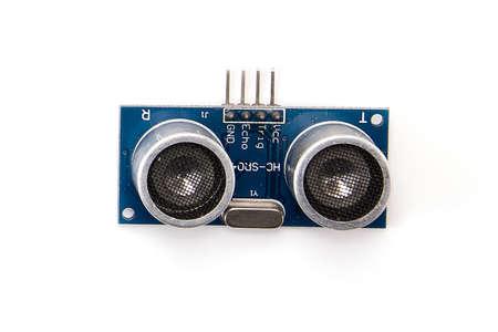 electronic module ultrasonic isolated