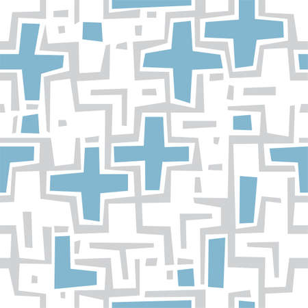 perpendicular: Seamless texture made out of crosses and lines
