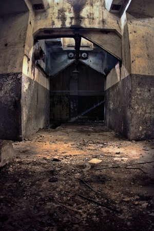 Industrie-Ruinen