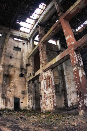 Industrial ruins Stock Photo - 11651867