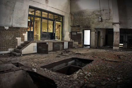 industrial ruins: Industrial ruins Editorial