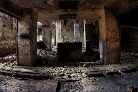 habitacion desordenada: Ruinas industriales