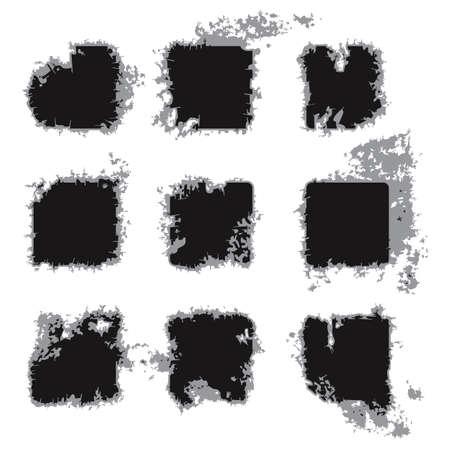 Grunge frames Stock Vector - 12486877