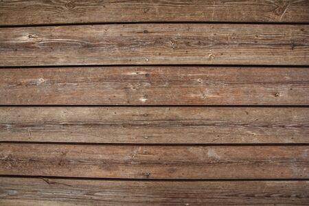 Arrière-plan couleur marron nature motif détail de bois de pin décoratif vieux fort mur texture surface du meuble