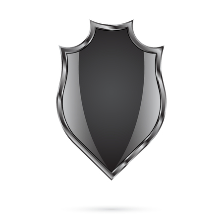 Shield on a white background Vector