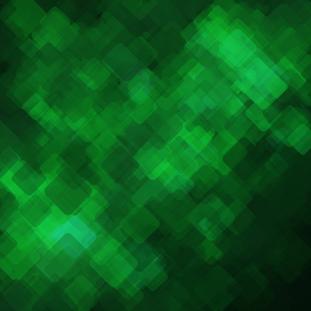 basis: Abstract geometric background  consisting of overlapping square elements Illustration