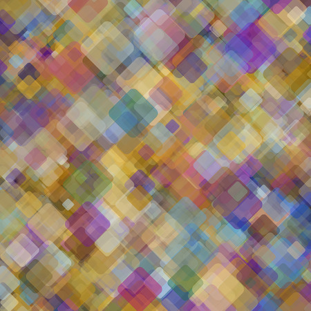 Abstract geometric background  consisting of overlapping square elements Vector
