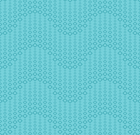 Seamless pattern on a color background. Has the shape of a wave. Consists of through geometric elements. Illustration