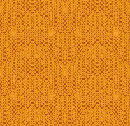 perforating: Seamless pattern on a color background. Has the shape of a wave. Consists of through geometric elements. Illustration