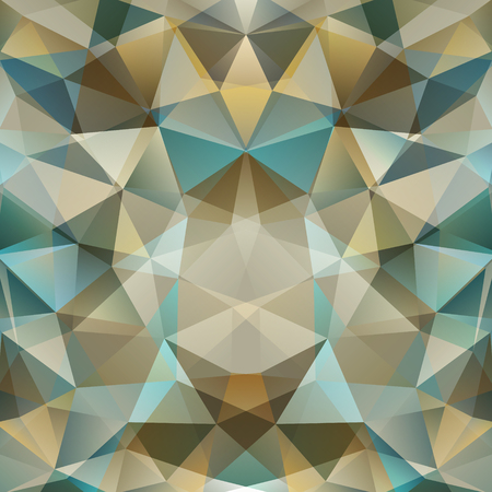 Abstract geometric background  consisting of overlapping triangular elements Vector
