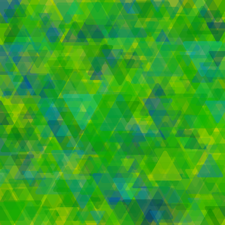 Abstract geometric background  consisting of overlapping triangular elements of various sizes Vector