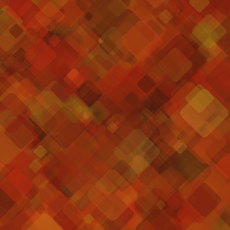 medley: Abstract geometric background  consisting of overlapping square elements Illustration