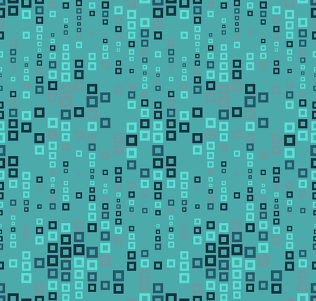 perforating: Seamless pattern on a color background. It has the shape of a wave. Consists of through geometric elements in color. Useful as design element for texture, pattern and artistic compositions. Illustration