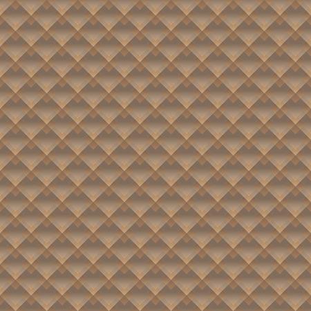 fondo geometrico: Fondo geom�trico abstracto en marr�n. Ilustraci�n del vector.