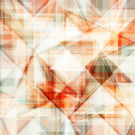 triangular shape: Vector abstract background. Consists of geometric elements. The elements have a triangular shape. In color. Illustration