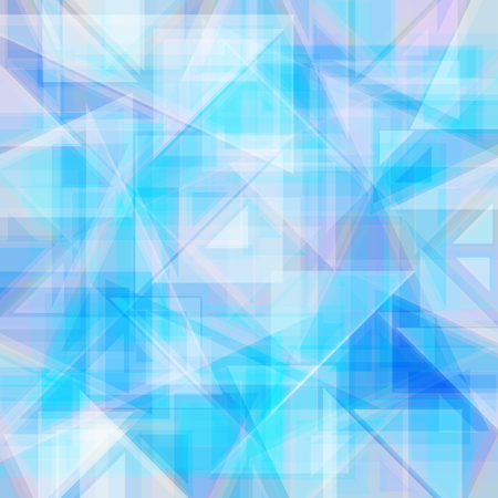 triangular shape: Vector abstract background. Consists of geometric elements. The elements have a triangular shape. In blue.