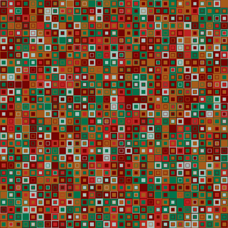 interconnected: Vector abstract background. Consists of geometric elements. The elements have square shape and different color. Colorful mosaic background. Useful as design element for texture and artistic compositions. Illustration