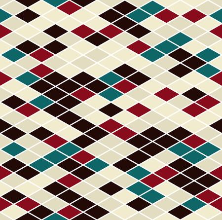 Patrón sin fisuras. Se compone de elementos geométricos sobre un fondo blanco. Útil como elemento de diseño.
