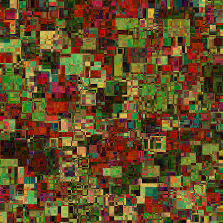 medley: Abstract background. Consists of geometric elements. The elements have a square shape and different color. Colorful mishmash.