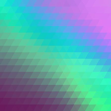 Geometric multicolored background consisting of bright triangular elements. Vector illustration. Illustration