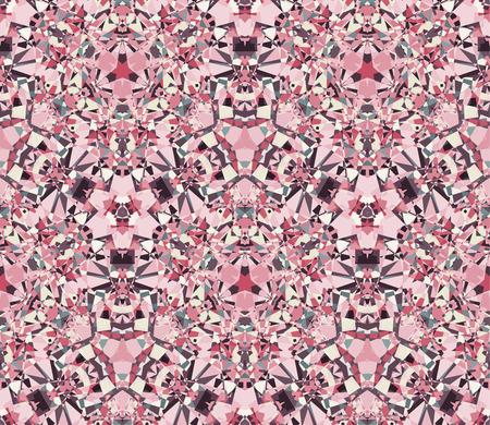 Kaleidoscope abstract pattern. Çizim