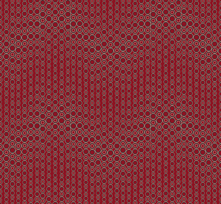 Geometric seamless pattern on red background Vecteurs