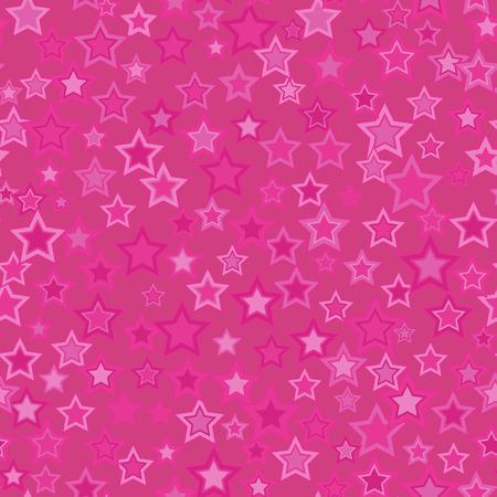 Star seamless pattern, background Ilustração