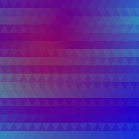 Mosaic background, blank. Colored triangles. Smoothened coloring.