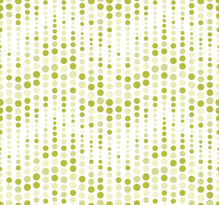 Seamless pattern, background, texture. Geometric elements, circles. Polka dot. Shades of green on white. Graphic design element. 스톡 콘텐츠 - 135454420