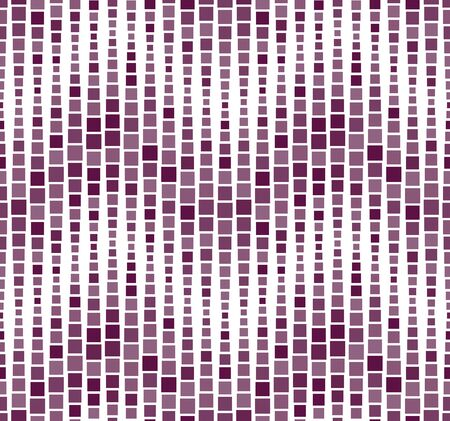 Seamless pattern, background, texture. Geometric elements, squares. Mosaic. Shades of purple on white. Graphic design element.