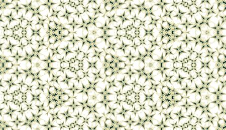 Seamless pattern. Geometric abstraction on white background. Color kaleidoscope. Useful as design element for texture and artistic compositions. 向量圖像