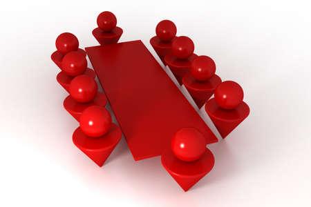comit� d entreprise: Mod�le 3D de conf�rence. Made in 3ds max