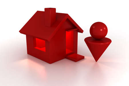 man made: 3d model house and man. made in 3ds max