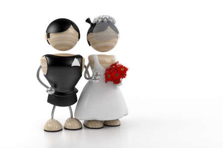 wedding 3d model