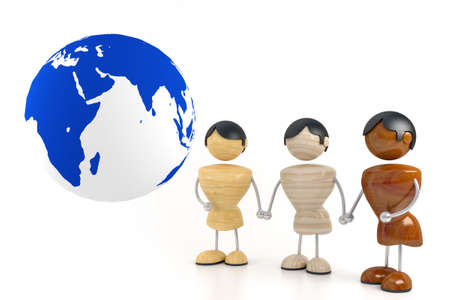 nation world friendship Stock Photo