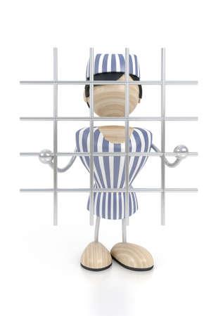 prisoner is in clink