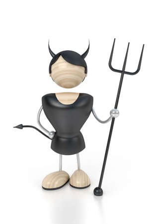 dickens: devil 3d model