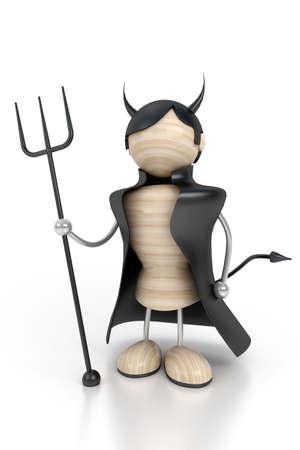 misfortune: devil 3d model